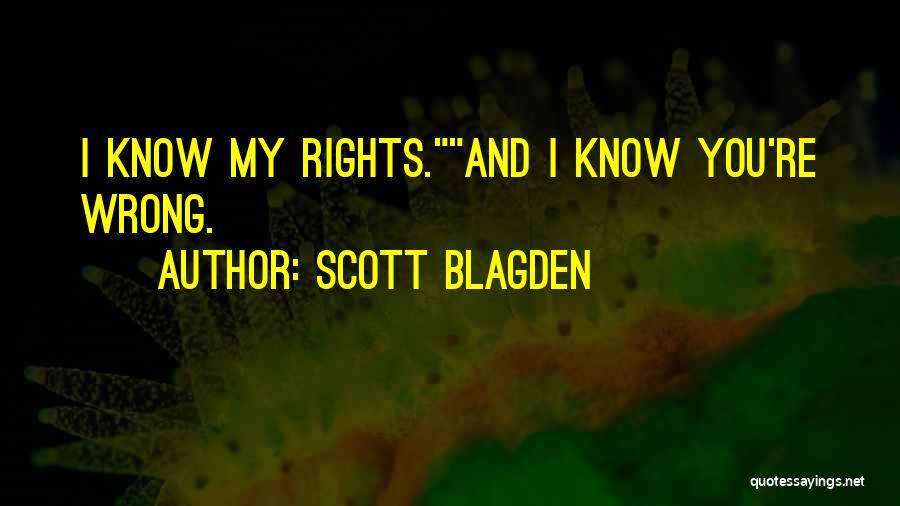Pun Quotes By Scott Blagden