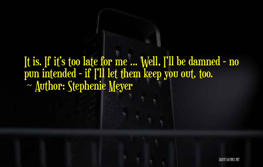 Pun Quotes By Stephenie Meyer