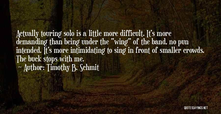 Pun Quotes By Timothy B. Schmit