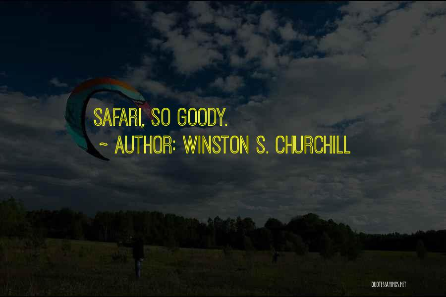 Pun Quotes By Winston S. Churchill