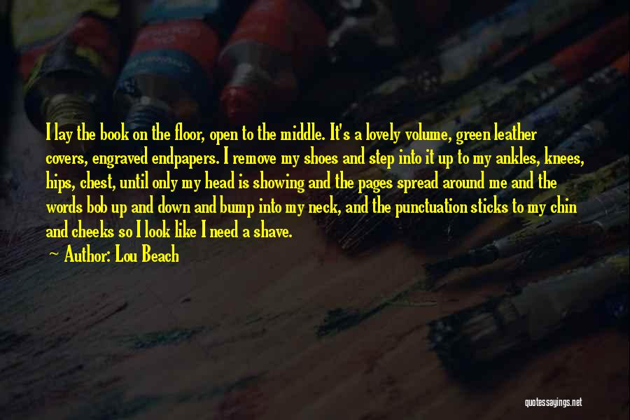 Punctuation Around Quotes By Lou Beach
