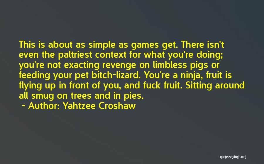 Punctuation Around Quotes By Yahtzee Croshaw