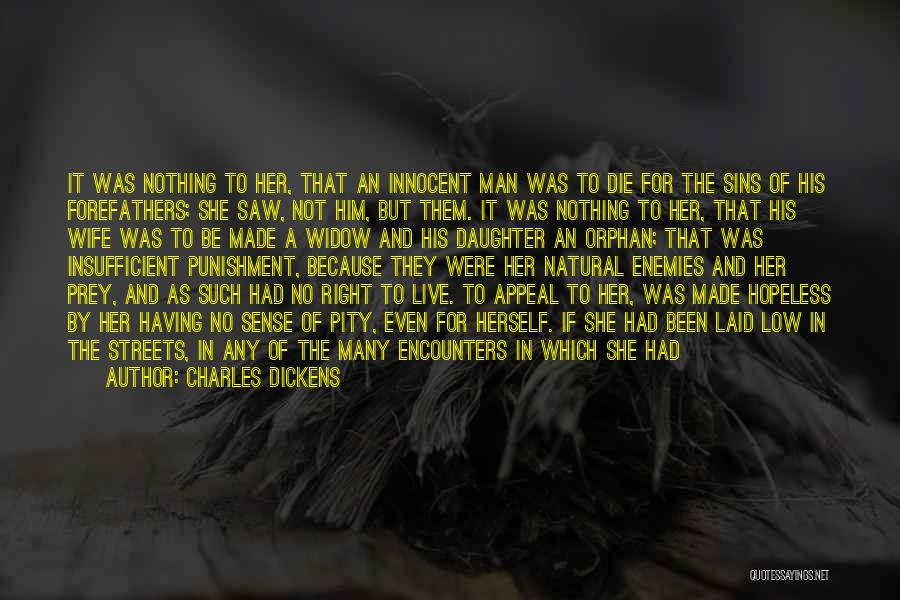 Punishment For Sins Quotes By Charles Dickens