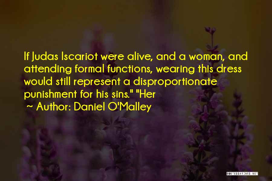 Punishment For Sins Quotes By Daniel O'Malley