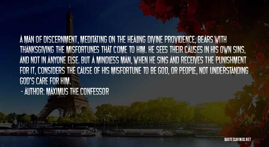 Punishment For Sins Quotes By Maximus The Confessor