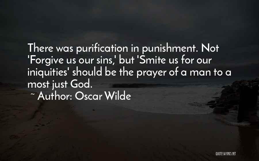 Punishment For Sins Quotes By Oscar Wilde