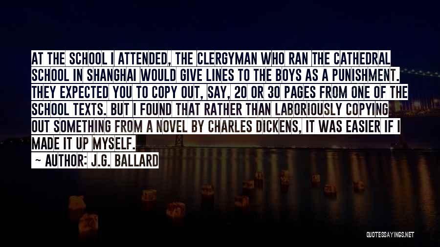 Punishment In School Quotes By J.G. Ballard