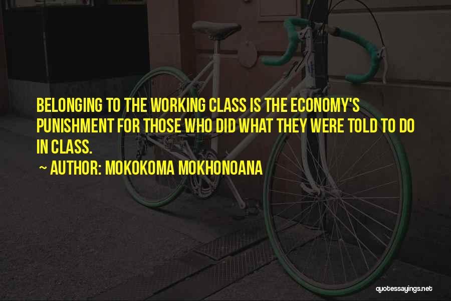 Punishment In School Quotes By Mokokoma Mokhonoana