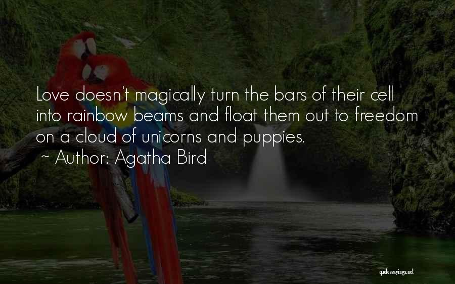 Puppies Quotes By Agatha Bird
