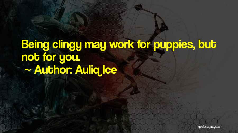 Puppies Quotes By Auliq Ice
