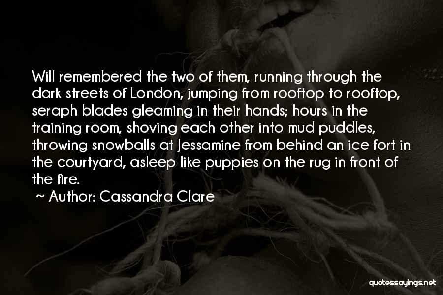 Puppies Quotes By Cassandra Clare