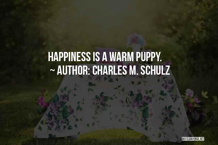 Puppies Quotes By Charles M. Schulz