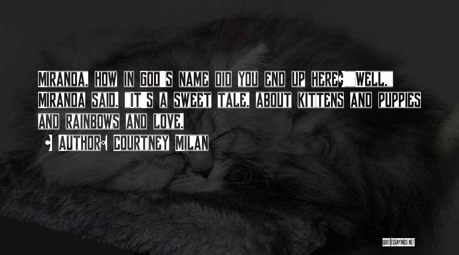 Puppies Quotes By Courtney Milan