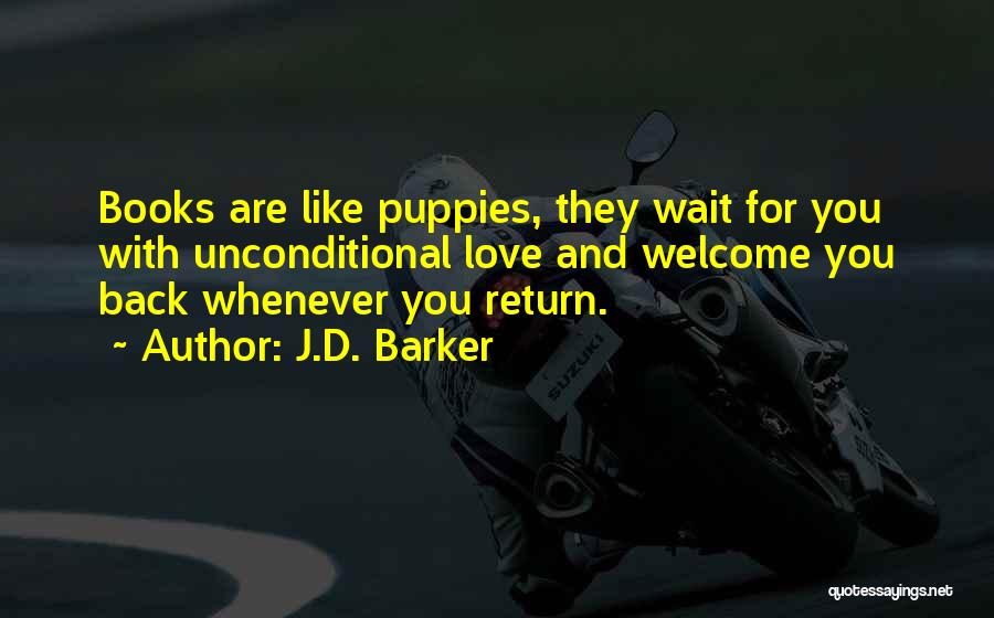 Puppies Quotes By J.D. Barker