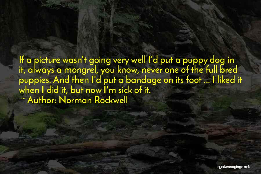 Puppies Quotes By Norman Rockwell