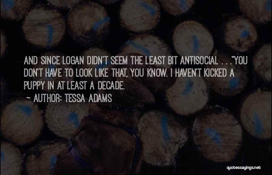 Puppies Quotes By Tessa Adams