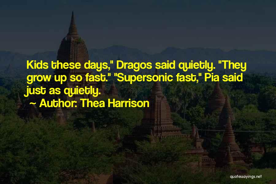 Puppies Quotes By Thea Harrison