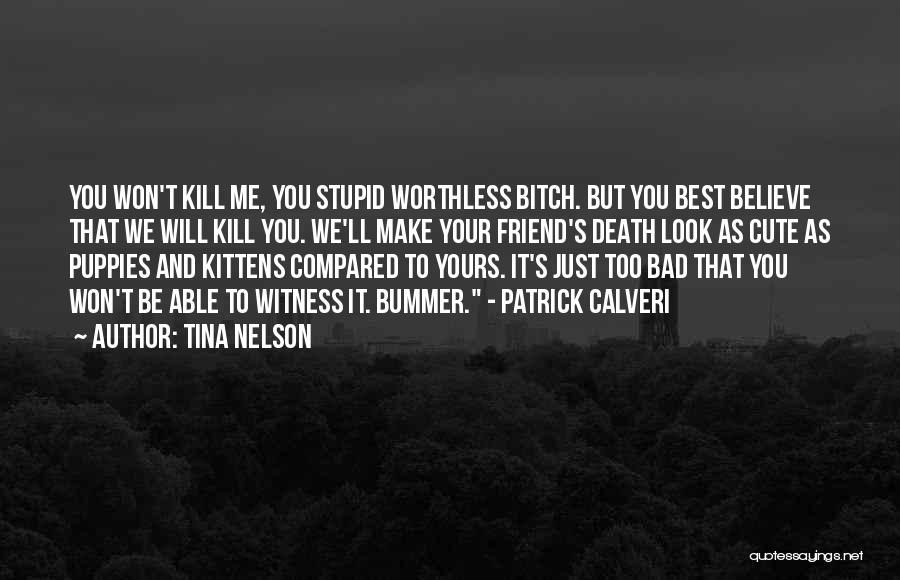 Puppies Quotes By Tina Nelson