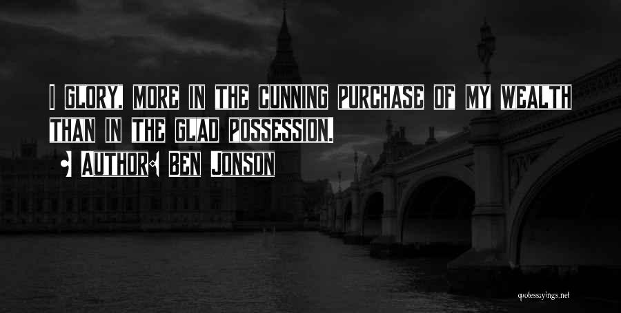 Purchase Quotes By Ben Jonson