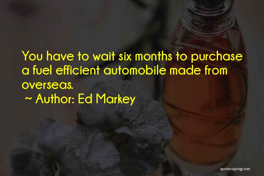 Purchase Quotes By Ed Markey