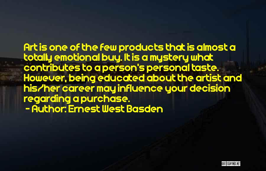 Purchase Quotes By Ernest West Basden