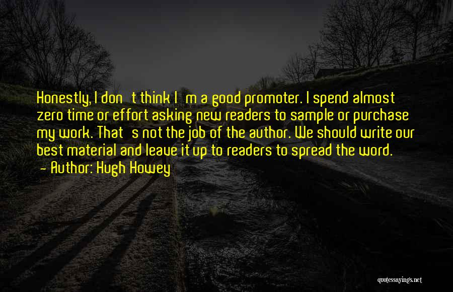 Purchase Quotes By Hugh Howey