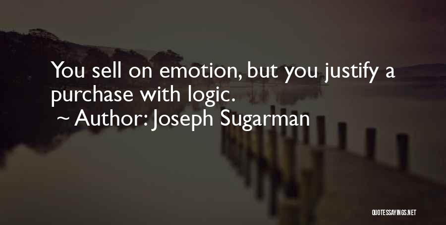 Purchase Quotes By Joseph Sugarman