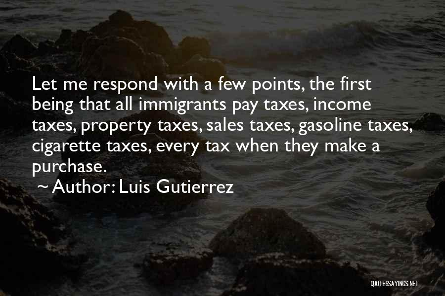 Purchase Quotes By Luis Gutierrez