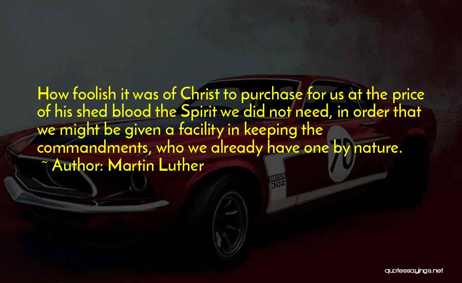 Purchase Quotes By Martin Luther