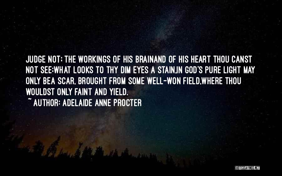 Pure From Heart Quotes By Adelaide Anne Procter