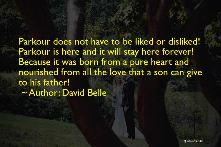 Pure From Heart Quotes By David Belle