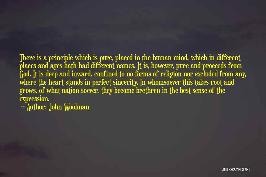 Pure From Heart Quotes By John Woolman