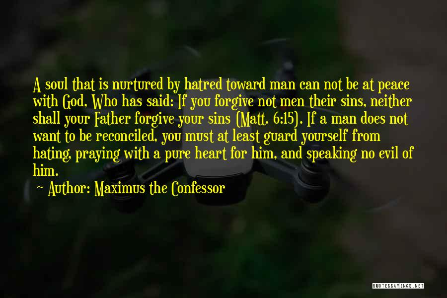 Pure From Heart Quotes By Maximus The Confessor