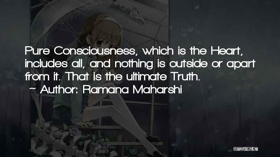 Pure From Heart Quotes By Ramana Maharshi