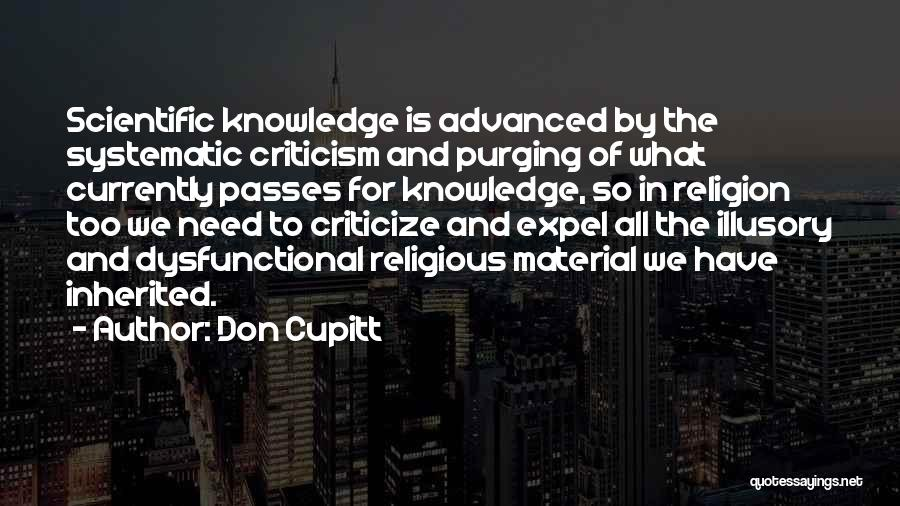 Purging The Past Quotes By Don Cupitt