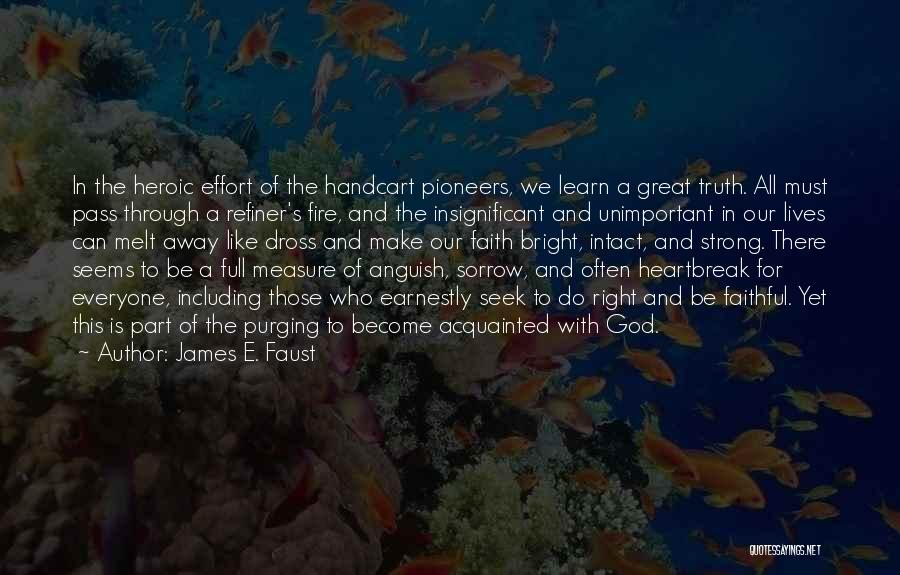 Purging The Past Quotes By James E. Faust