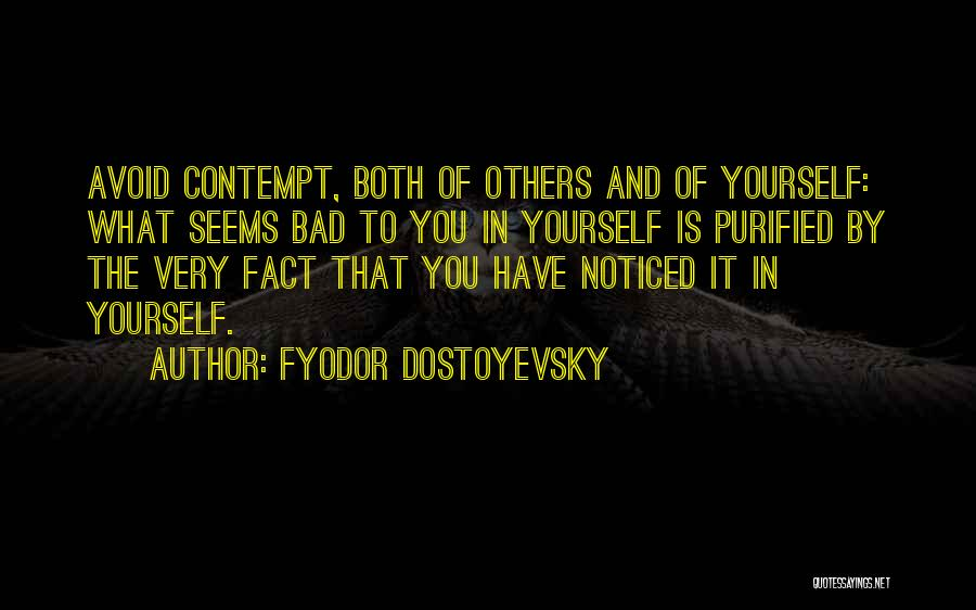 Purified Quotes By Fyodor Dostoyevsky