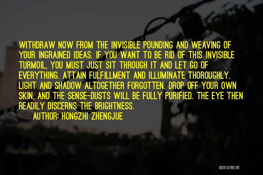 Purified Quotes By Hongzhi Zhengjue