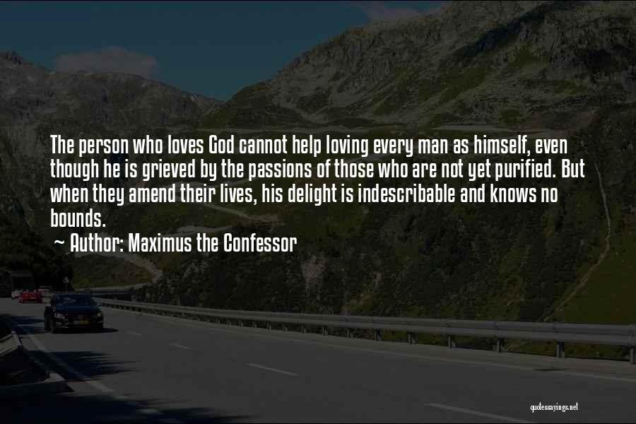 Purified Quotes By Maximus The Confessor