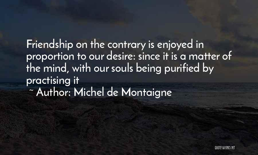 Purified Quotes By Michel De Montaigne