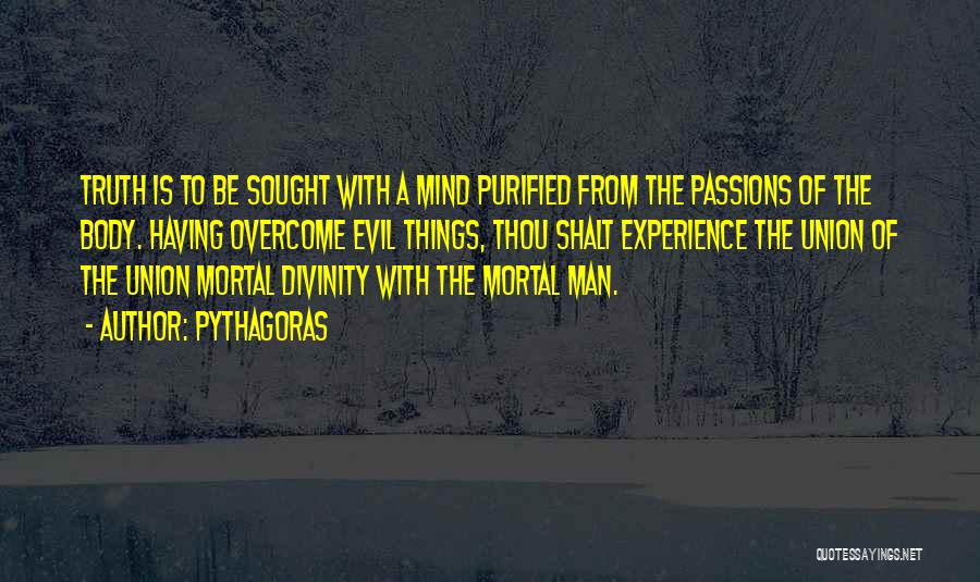Purified Quotes By Pythagoras