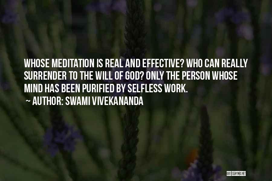 Purified Quotes By Swami Vivekananda