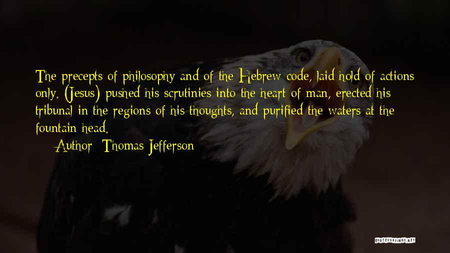 Purified Quotes By Thomas Jefferson