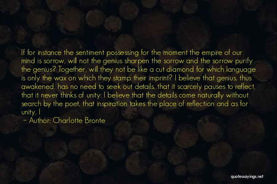 Purify My Heart Quotes By Charlotte Bronte
