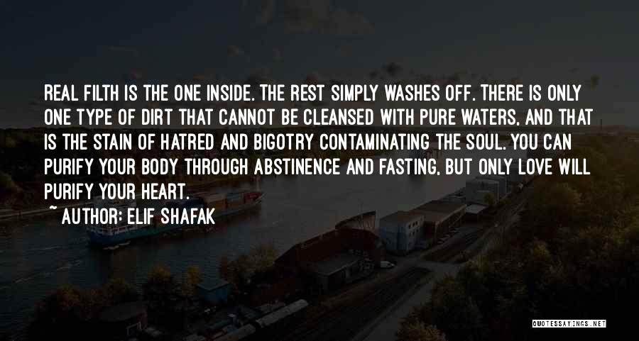 Purify My Heart Quotes By Elif Shafak