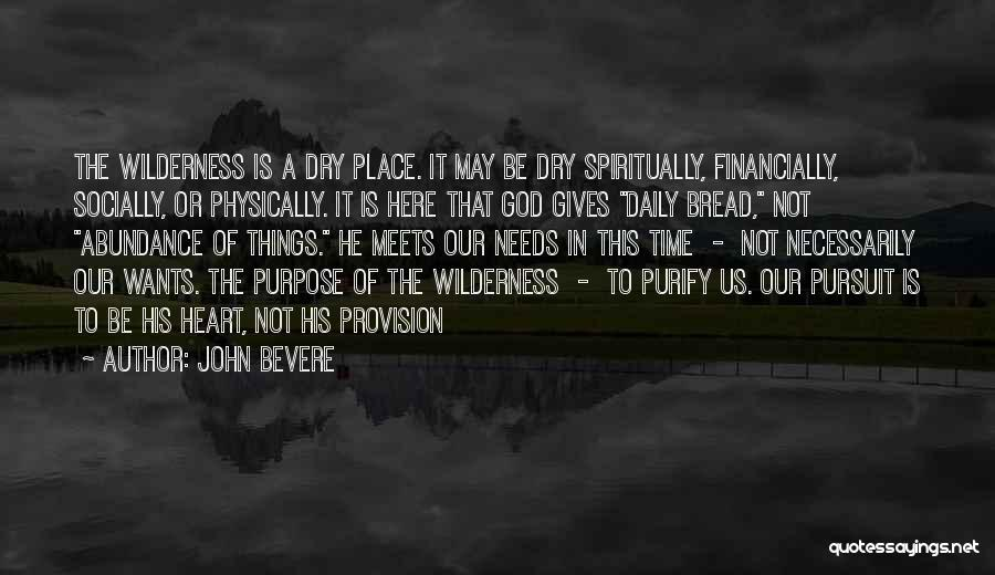 Purify My Heart Quotes By John Bevere