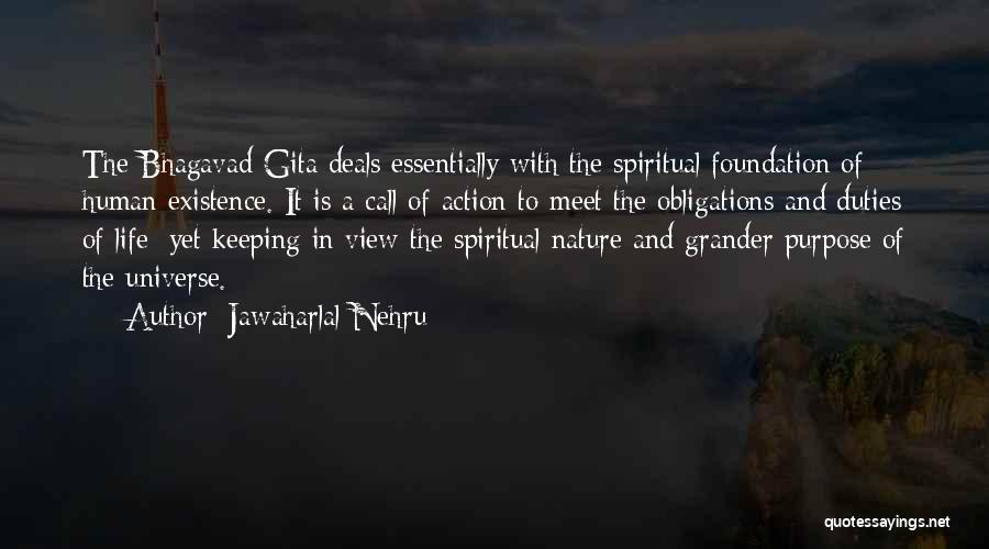 Purpose To Life Quotes By Jawaharlal Nehru