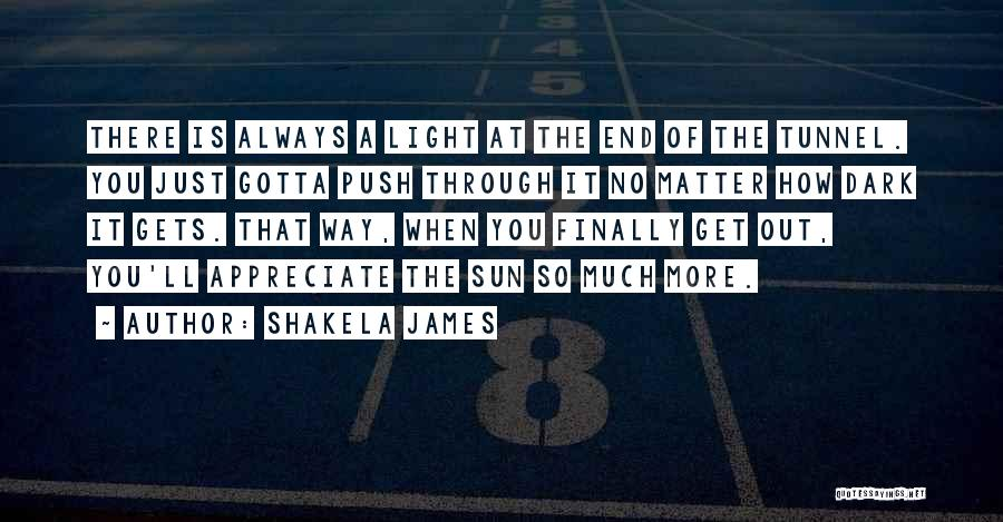 Push Till The End Quotes By Shakela James