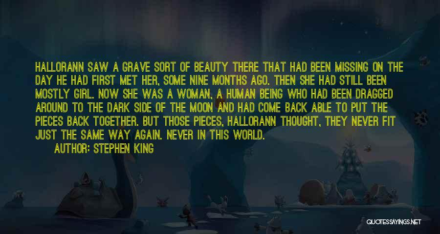 Put Your Girl First Quotes By Stephen King