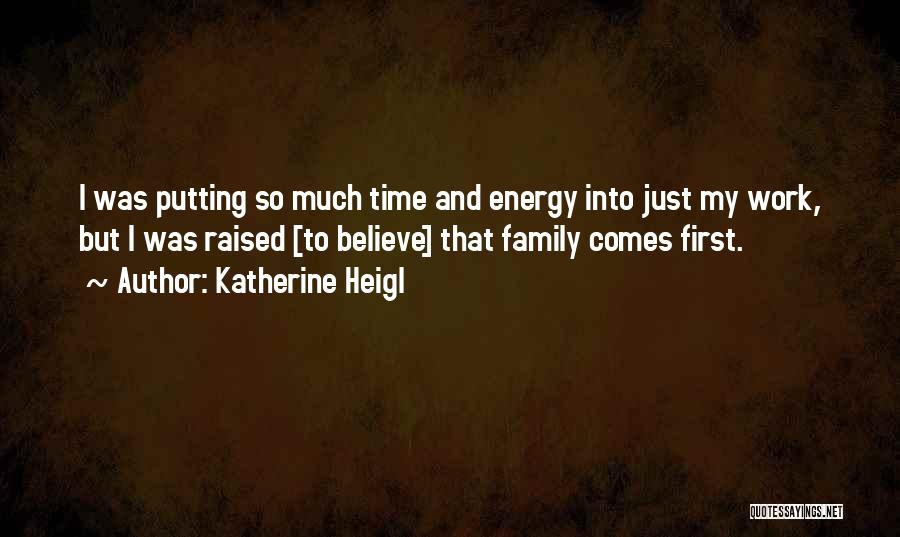 Top 9 Quotes Sayings About Putting Family First